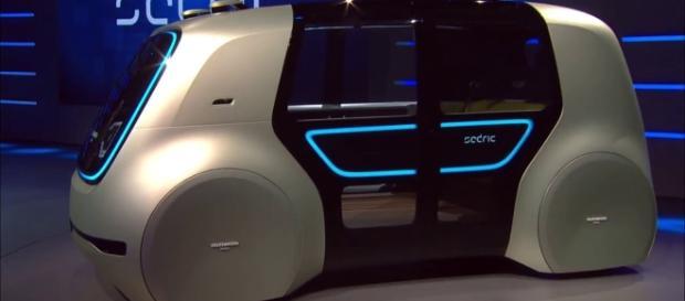 Sedric the self-driving van | gigazine.net