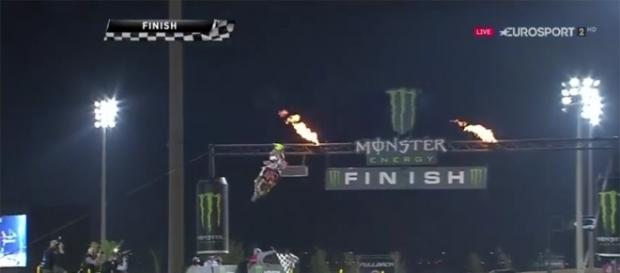 Tony Cairoli vincitore del Gran Premio del Qatar