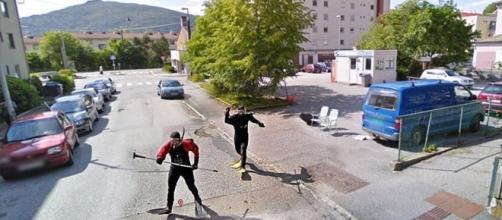 As fotos mais bizarras e engraçadas do Google Street View