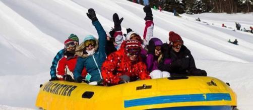 Canadá, país líder en turismo de invierno.