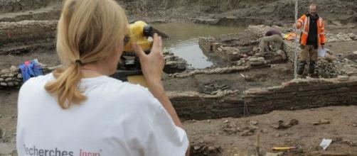 il team di archeologi dell'Inrap ha riportato alla luce un antico santuario mitreo in Corsica