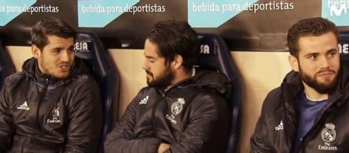 Isco et Morata sur le banc du Real Madrid