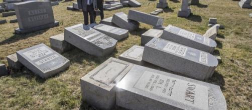 Philly vandals damage Jewish gravesites - usatoday.com