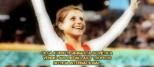 Vendio sus medallas y trofeos, gimnasta soviética by Gazeta.ru