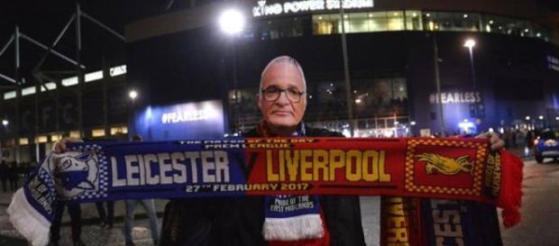 Antigo técnico foi presença notada no estádio King Power