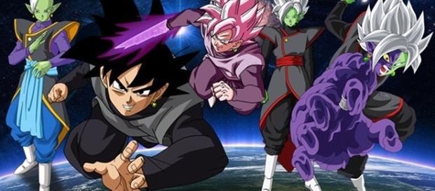 Dragon Ball Super: Las transformaciones de Zamasu, Goku Black