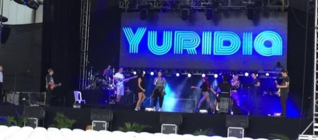 La cantante Yuridia se presentará en Toluca el próximo 25 de marzo (Foto tomada de twitter)