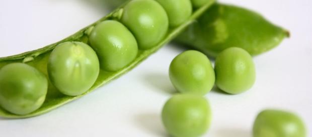 Los guisantes son una fuente abundante de vitaminas