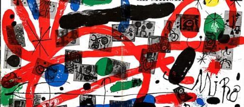 Fascicolo 151-152 di Derriere le miroir, con 26 litografie originali di Miro', 1965_1