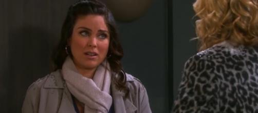 Nadia Bjorlin talks about Chloe and Nicole on 'Days Of Our Lives' - Image via Movie Extras/Photo Screencap via NBC/YouTube.com