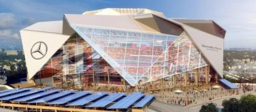 Photo: Mercedes-Benz Stadium (sourced via Blasting News Library)