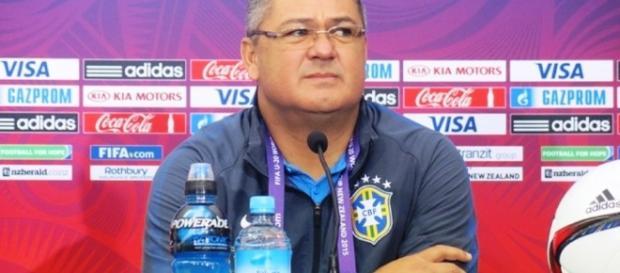 Rogério Micale, técnico da Seleção Brasileira Sub-20