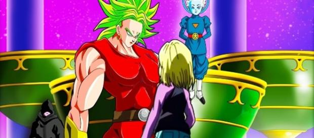 Dragon Ball Super Mujer Broly vs Androide 18