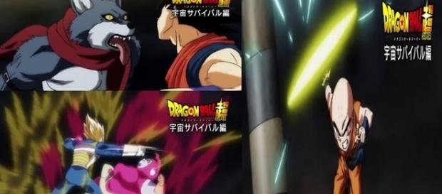 Dragon Ball Super Universo 7 de Goku vs. Universo 9