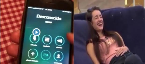 GH17: ¡La grabación de la supuesta llamada de Adara gimiendo a sus compañeros!