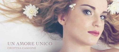 Cristina Cascone e ''Un Amore Unico'': questa è la copertina del singolo.