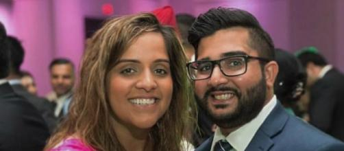 Manpreet Kooner and her fiance (Submitted by Manpreet Kooner)