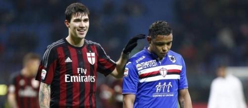 Milan-Sampdoria domenica 5 febbraio 2017 ore 12,30