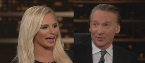 Tomi Lahren and Bill Maher, via YouTube