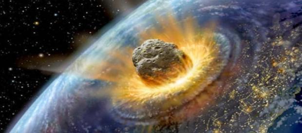 Impacto de um asteroide (Fonte: http://contraanovaordemmudial.blogspot.com.br/2015/05/fema-esta-estocando-sacos-para-corpos.html)