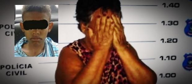 Mãe pode ser presa após bater no filho - Google