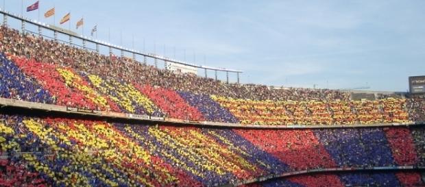 O Camp Nou recebe mais um jogo da Liga Espanhola
