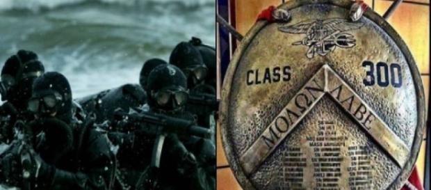 O escudo com os nomes dos graduados da classe