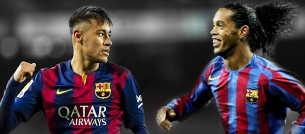 Segundo Ronaldinho é só questão de tempo para ue Neymar seja o melhor do Mundo