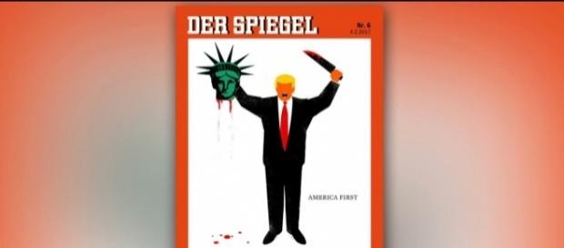 Spiegel Cover. (Fotoverantw./URG Suisse: Blasting.News Archiv)
