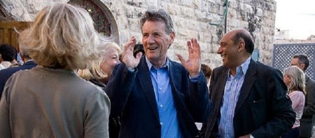 The extraordinary travel writer, Michael Palin scooped a top prize