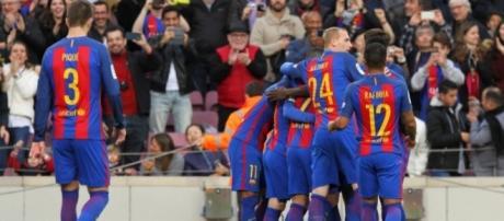Barcelona acorta distancias con el puntero a falta de 2 partidos del Madrid.