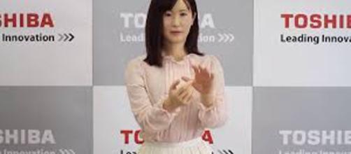 Aiko Chihira, el robot recepcionista creado por Toshiba
