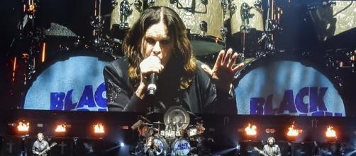Black Sabbath durante a turnê 'The End'