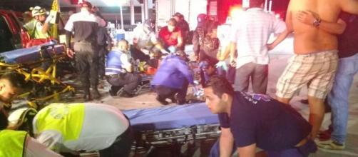 Diversos cuerpos de rescate acudieron al auxilio