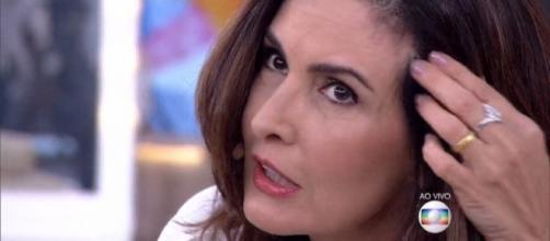 """Fátima Bernardes não ficou contente com a """"senhora"""""""