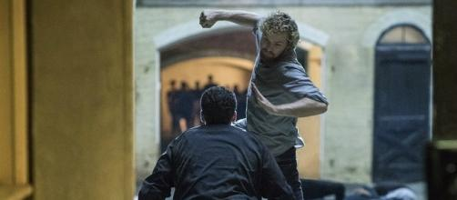 Finn Jones as Danny Rand in 'Iron Fist' / by Myles Aronowitz/Netflix.com used with permission