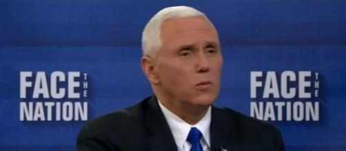 """Mike Pence on """"Face the Nation,"""" via YouTube"""