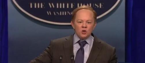 """Saturday Night Live"" on Sean Spicer, via YouTube"
