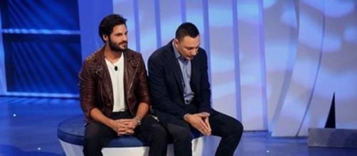 Serkan Cayoglu con il giovane Matteo
