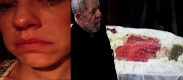 Luana Piovani diz que Lula fez 'draminha' ao chorar por esposa morta