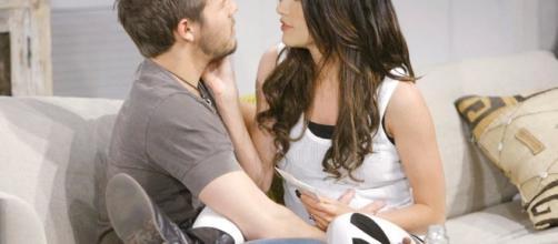Anticipazioni Beautiful, tra Liam e Steffy è passione?