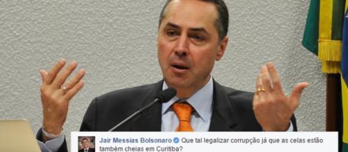 Bolsonaro ironiza ministro do STF