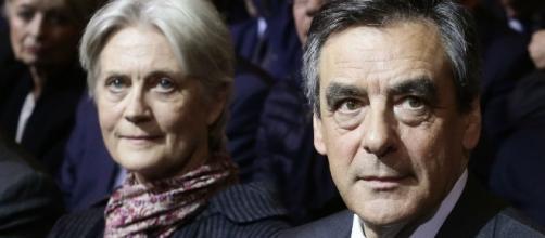 Francois et Penelope Fillon --
