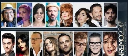 I cantanti della 67esima edizione di Sanremo 217