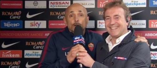 L'irruzione di Luciano Spalletti a Sky Sport: FamoStoStadio