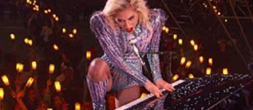 Source: YoutubeBlack Youtube. Lady GaGa rocks Super Bowl halftime show