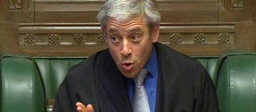 Speaker John Bercow says MPs on the fiddle were just bored ... - mirror.co.uk