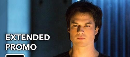 The Vampire Diaries 8x12: Damon faz um acordo com Cade para salvar a alma de Stefan (Foto: CW/Youtube)