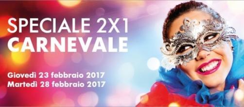 Trenitalia, Speciale 2×1 Carnevale
