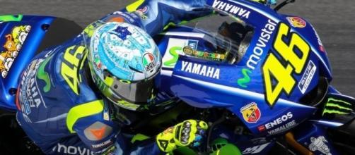 Valentino Rossi 46 durante i test